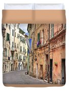 Taggia In Liguria Duvet Cover
