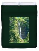 Tahitian Waterfall Duvet Cover