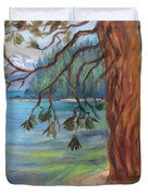 Tahoe Light Sugar Pine Point State Park Duvet Cover