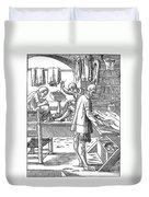 Tailors, 16th Century Duvet Cover