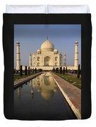 Taj Mahal Reflection Duvet Cover