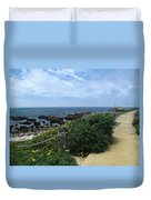 Take A Walk With Me Duvet Cover
