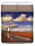 Talacre Lighthouse Duvet Cover
