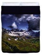 Talkeetna Mountains In Summer Duvet Cover