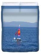 Tall Sail Duvet Cover