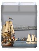 Tall Ship Six Duvet Cover