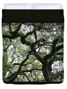 Tampa Trees Duvet Cover