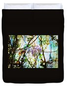 Tangled Wisteria Duvet Cover by Andee Design