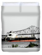 Tanker Baton Rouge Duvet Cover