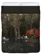 Tannic Acid From Old Trees Stains Water Duvet Cover