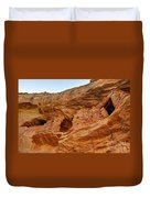 Target - Bulls Eye Anasazi Indian Ruins Duvet Cover