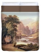 Tasmanian Gorge Duvet Cover