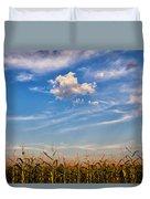 Tassels And Sky Duvet Cover