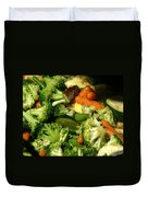 Tasty Veggie Stir Fry Duvet Cover
