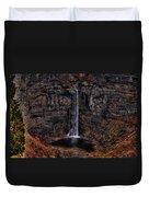 Taughannok Falls II - Hdr Duvet Cover