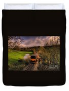 Taw Valley Duvet Cover by Rob Hawkins