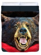 Taxidermy -  Black Bear Duvet Cover