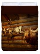 Taxidermy - The Hunting Lodge  Duvet Cover