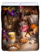 Tea Party - The Magic Of A Tea Party  Duvet Cover by Mike Savad