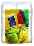 Tea Pot Duvet Cover