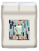 Tea Room Duvet Cover