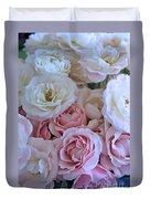 Tea Time Roses Duvet Cover