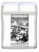 Tea: Treatise, 1687 Duvet Cover