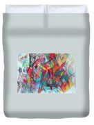Teach Me To Have Mercy Duvet Cover