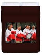Team Canada 1 Duvet Cover