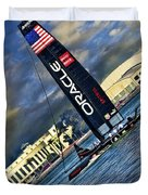 Team Oracle On The Bay Duvet Cover