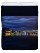 Tempe Arts Center At Sunset  Duvet Cover