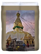 Temple Duvet Cover