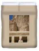 Temple Of Hatshepsut Duvet Cover