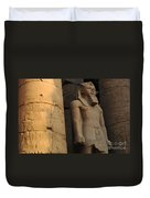Temple Of Luxor  Egypt Duvet Cover