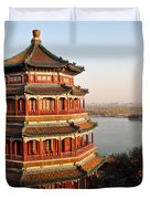 Temple Of The Fragrant Buddha Duvet Cover