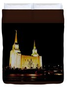 Temple Of The Later Day Saints Duvet Cover