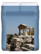 Temple Ruin - Ephesus Duvet Cover