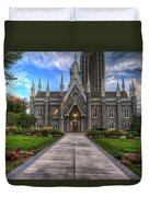 Temple Square Assembly Hall Duvet Cover