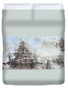 Temples Of The North Duvet Cover