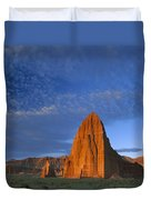 Temples Of The Sun And Moon Duvet Cover by Tim Fitzharris