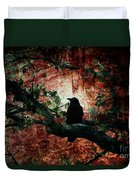 Tempting Fate Duvet Cover