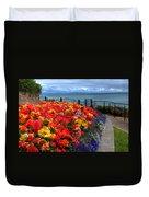 Tenby In Bloom Duvet Cover