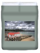Tenby Lifeboat House Duvet Cover
