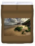 Tenby Lifeboat Ramps Duvet Cover