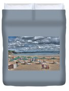 Tenby North Beach 3 Duvet Cover