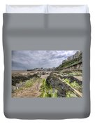 Tenby Rocks 2 Duvet Cover