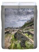 Tenby Rocks 3 Duvet Cover