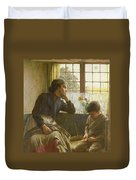 Tender Grace Of A Day That Is Dead Duvet Cover by Walter Langley