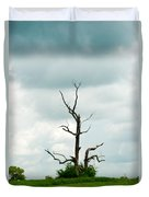 Tennessee Lone Tree Duvet Cover