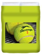 Tennis Balls Duvet Cover